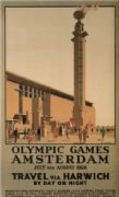 Amsterdam Olympic games 1928 - Travel via Harwich